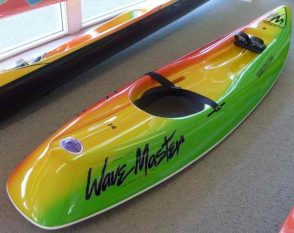 Wavemaster 2.6 stabalizer comp great intermediate ski with fully adjustable sliding footbock