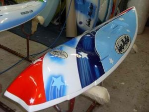 Current World Champion Rees Duncans New Board