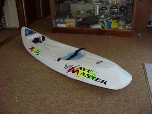 WAVEMASTER White Roto Moulded Ski