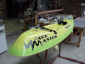 WAVEMASTER Two Tone Green White Bottom