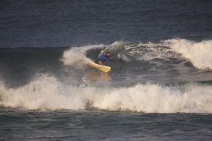 damien in action at crescent heads 1