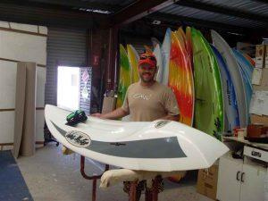 Nick Boon New Custom Ski