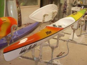 Wavemaster offshore paddling ski
