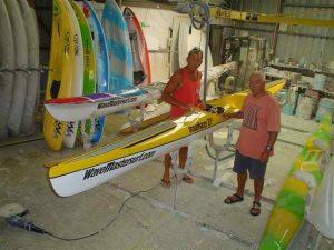 Rob Walker picks up his new off-shore